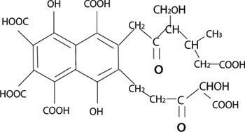 フルボ酸化学式