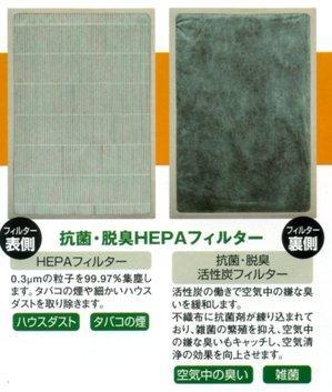 80,抗菌・脱臭HEPAフィルター(流氷の天使YK570R用)